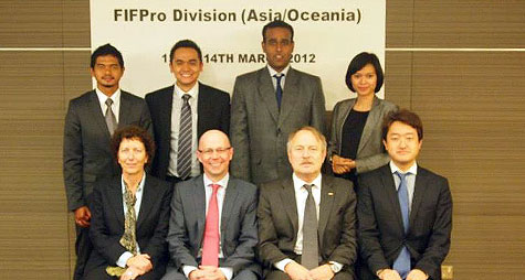 APPI - FIFPRO Asia Oceania meeting march 2012