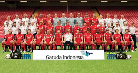 Garuda sponsori Liverpool