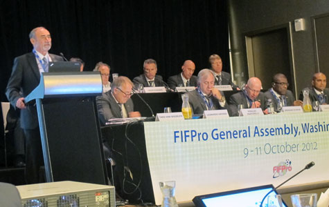 FIFPro General Assembly, Washington DC 2012