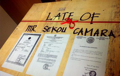 Laporan APPI: RIP Sekou Camara