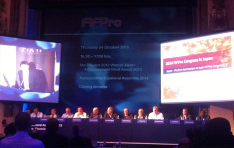 FIFPro General Assembly 2013